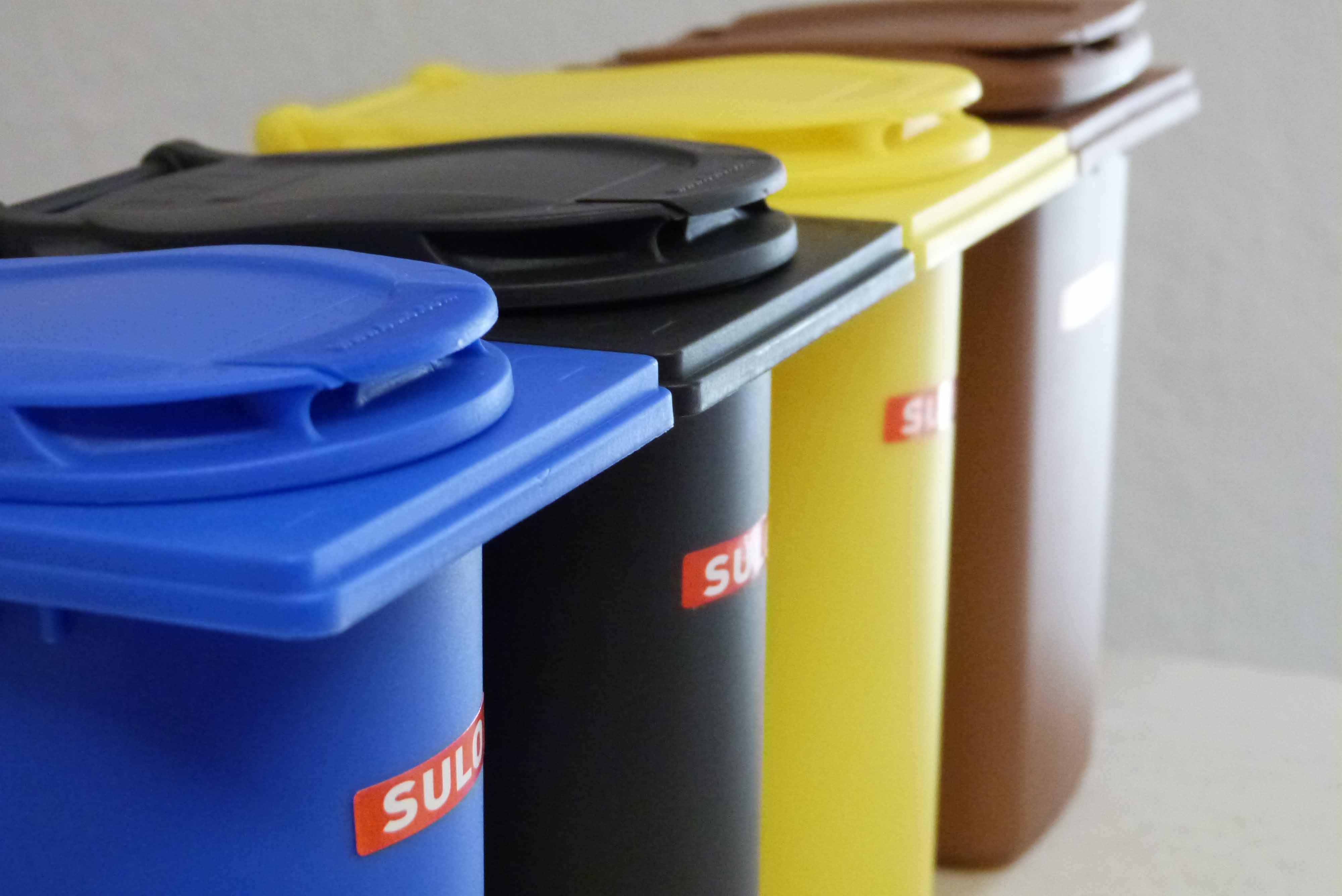 Symbolbild Müllabfallbehälter